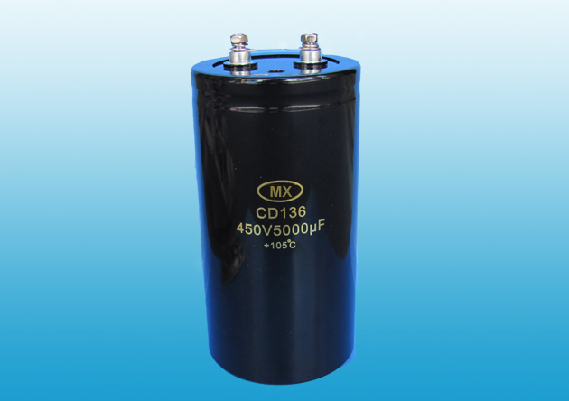 Screw Terminal Aluminum Electrolytic Capacitor